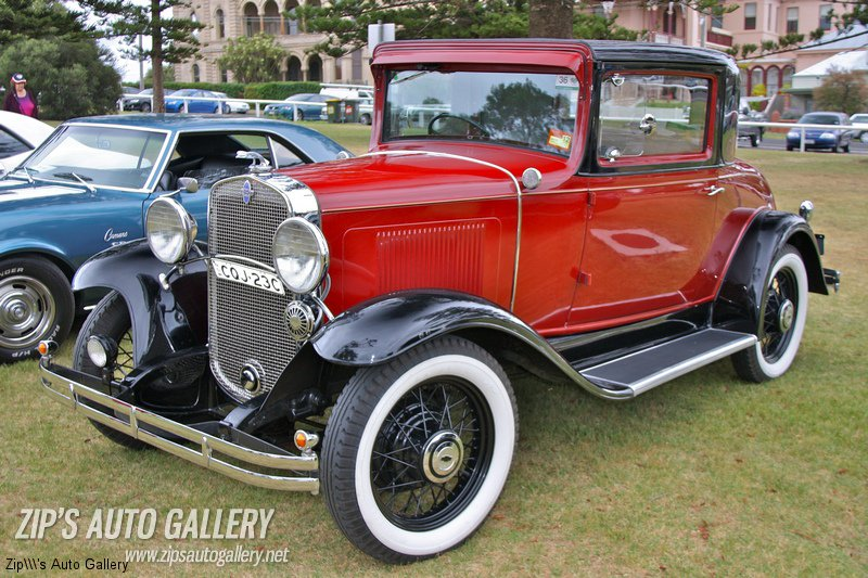 1931 Chev rare 3 Window Coupe RHD. As far as we know, none