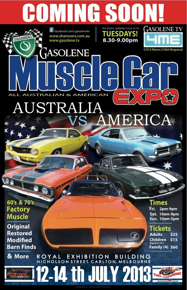Muscle Car Expo - Australia vs America