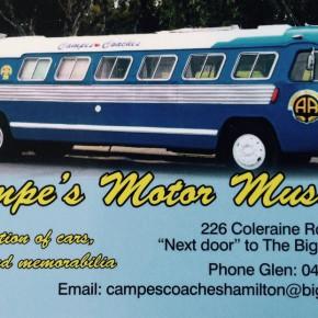 Campe's Motor Museum - Hamilton, Vic Australia 2016