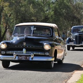 Early Ford V8 National Meet 2018 - Renmark, Sth Australia