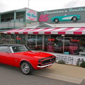 Freestone's Roadhaven 60's Diner 2015 - Aireys Inlet, Vic, Australia
